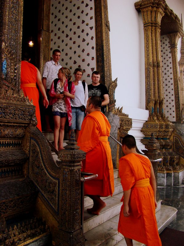 Monks in the Grand Palace