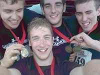 After Survival of the fittest w/medals!
