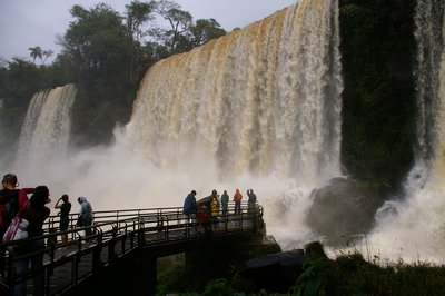 Argentinian side of Iguaçu