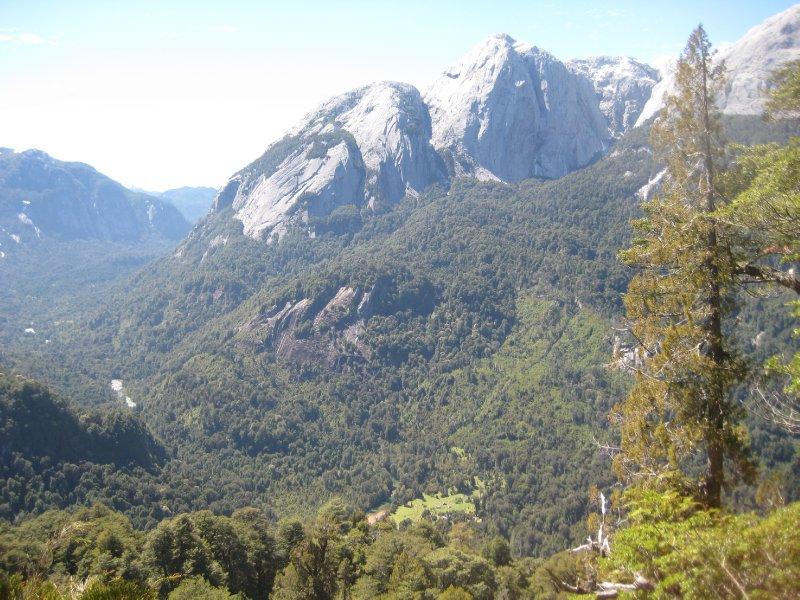 The view in cochamo