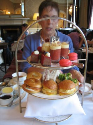 High Tea at the Shelbourne Hotel