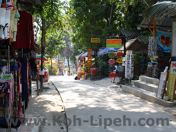 Koh Lipe shopping street