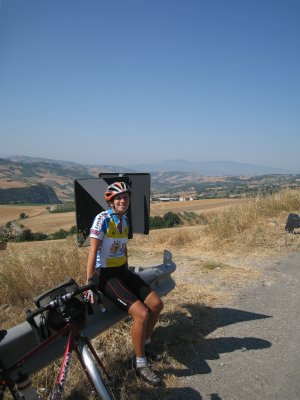 crossing from puglia to campania