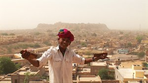 Salim - Jaisalmer - Fort background