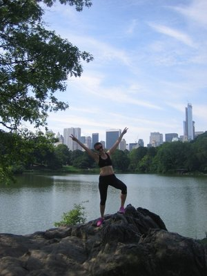 Central Park laufenderweise