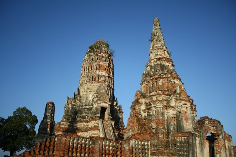Temple towers