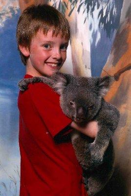 Australia Jack with koala