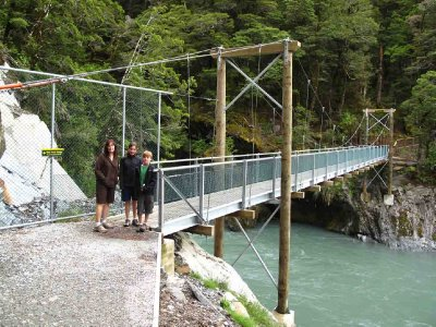Haast Pass Blue Pool