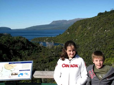 Rotorua Bronte Jack at Tarawera Lookout