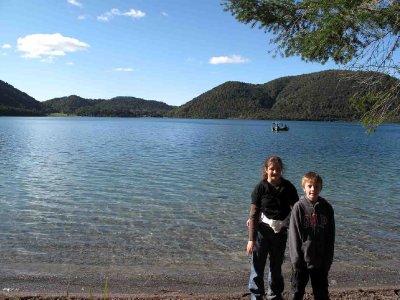 Rotorua Bronte Jack by the Blue Lake