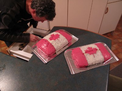Self-portrait-with-Canada-cakes