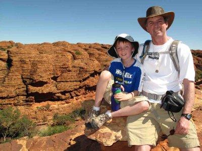 australia Kings Canyon Tim and Jack