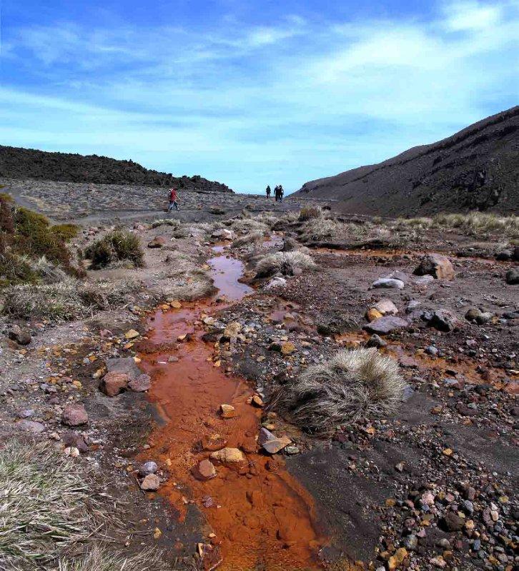 Tongariro Soda Springs stream