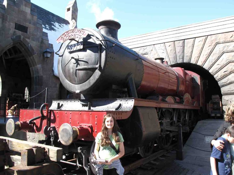 Universal Bronte at Hogwarts Express