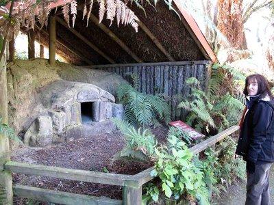 Rotorua Jenn at Buried Village