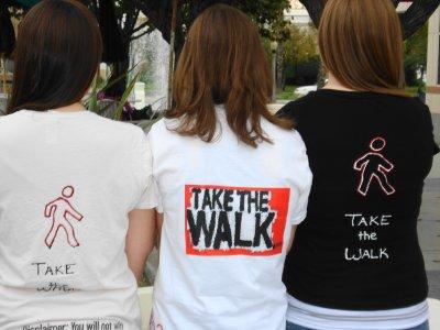 Takethewalk Tshirts