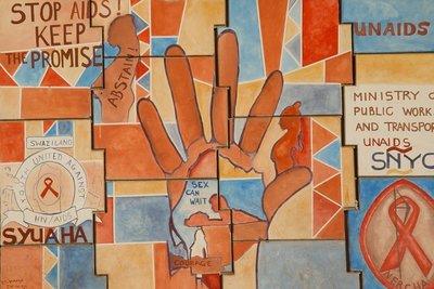 Stop Aids Mural
