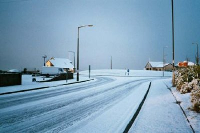 Snow in Port Talbot