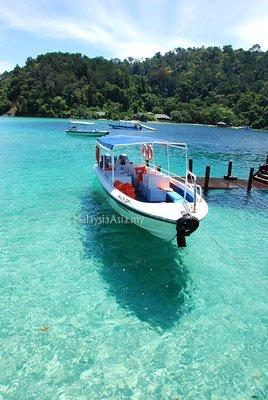 Sapi Island off Kota Kinabalu, Sabah