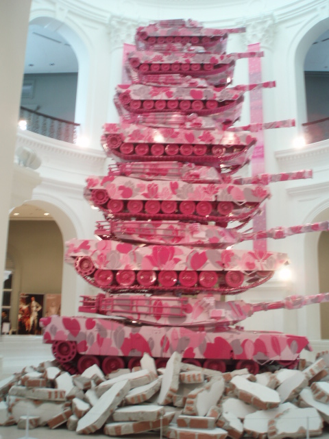 pink love tank