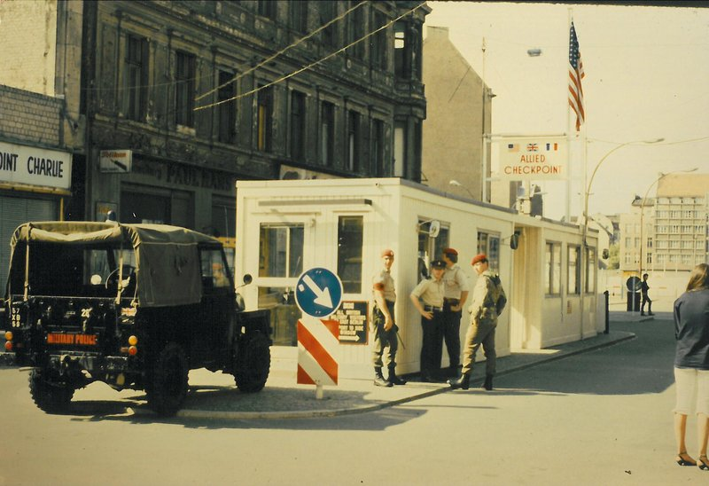 Berlin Check Point Charlie 1983