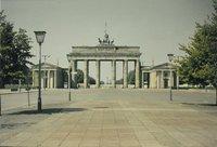 Berlin Brandenburg Tor from the East 1983