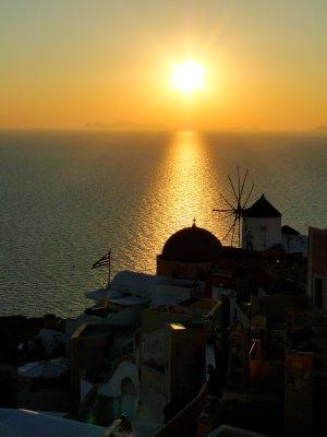 Oia's Sunset