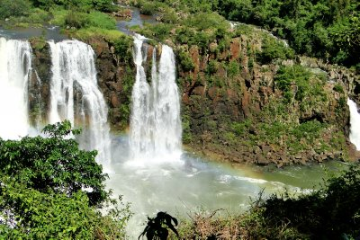 Panoramic View of the Falls from the Brazilian side