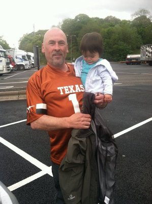Tio Loco with his Longhorn shirt