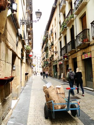 Bread delivery, San Sebastian