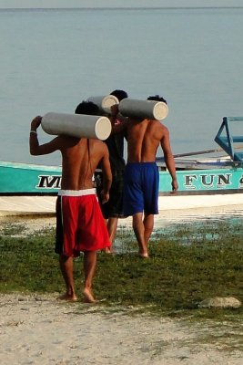 Oxygen Tanks, Malapascua