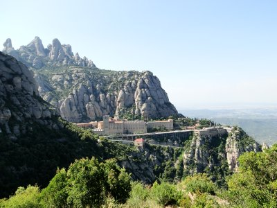 The Monastery in Montserrat