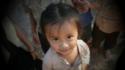 Lao child from Nam Nuen