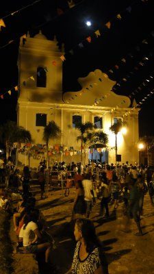 Celebrations under the full moon in Alcntara