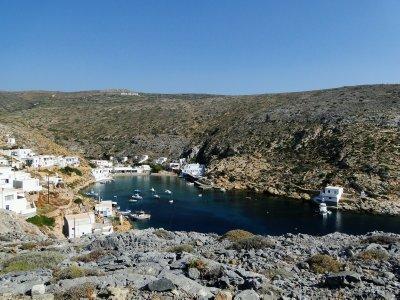 Heronisos beach
