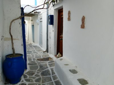 Narrow street of Kastro