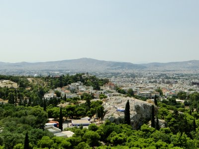 Athens as seen from Acropolis