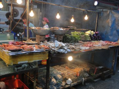 Zhong Shan Lu night market