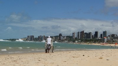 Natal as seen from the beach