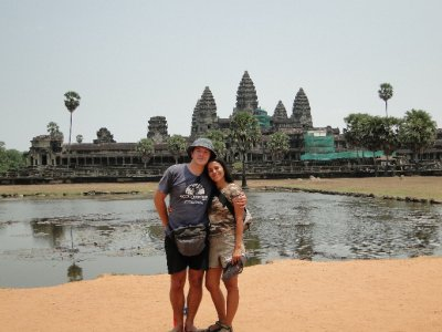 Us in Angkor Wat