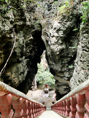 Wat Sampeau&#39;s Cave entrance