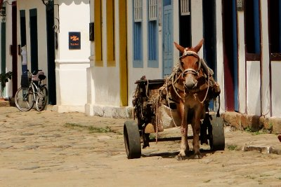 Paraty&#39;s traditional means of transport