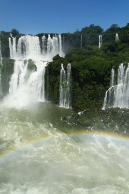 Falls and a rainbow I