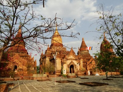 One of the many temples of Bagan