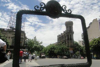 "Somewhere near ""La Boca"", Buenos Aires."