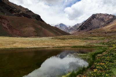 Horcones Lake, Aconcagua Provincial Park