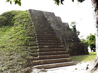 Small Pyramid at entrance