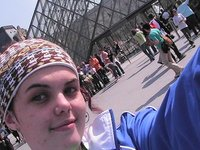 Me at the Lourve