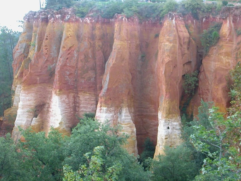 Cliffs at Roussillon