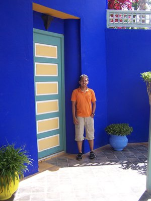 The gardens of Majorelle